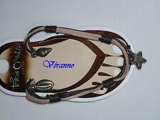 Chevillère en simili cuir n°2,bijoux de pied, bijoux de cheville.