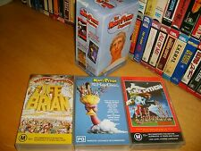 VHS *THE MONTY PYTHON COLLECTION* RARE Mint Australian BMG Edition - Box Set