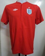 England Football Take Down Short Sleeve Shirt by Umbro Size Large