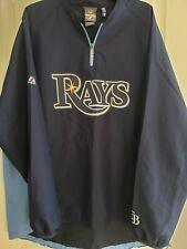 Tampa Bay Rays Majestic 1/4 Zip Gamer Jacket