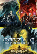 Godzilla Trilogy Movie Collection Dvd with English Dubbed