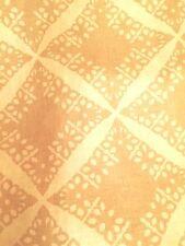 DAVID HICKS GROUNDWORKS Punch Linen citrine white printed softened new 1+ yard