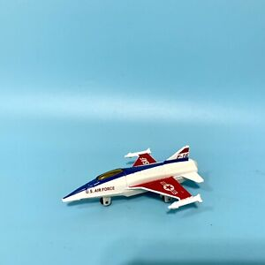 Motormax Famous Fighters U.S. Air Force F-16 Falcon Fighter Military Diecast Jet