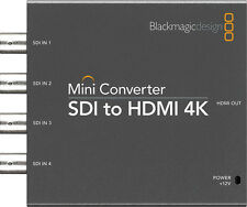Mini Converter SDI TO HDMI 4K BlackMagic Design (CONVMBSH4K) - Stock en Miami