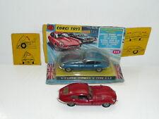 Corgi 335 Jaguar E Type 2+2 RED & BLUE VnrMint Boxed w/wing card *original*