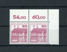 Berlino n. 611a ** eckrand COPPIA in alto a destra + dente di compensazione (121496)