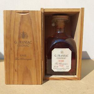 G.Fransac Rare Fine Champagne Cognac 40% Alkohol Frankreich Originalverpackung