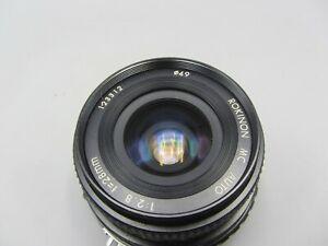 Rare Rokinon F2.8 28mm MC Auto Nikon AI Mount Lens For SLR/Mirrorless Cameras
