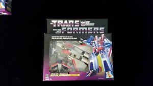 Transformers G1 Reissue STARSCREAM Walmart Exclusive, Brand new.