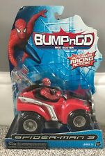 Spider-Man 3 The Movie - Spider-Man Action Figure Bump'N Go Mud Buster Toy NEW