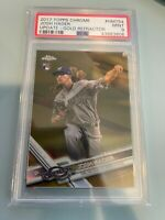 PSA 9 - 2017 Topps Chrome Update Josh Hader Gold RC Refractor Mint /50 RC HMT54