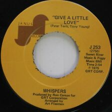 Soul 45 Whispers - Give A Little Love / You'Re What'S Been Missin' From My Life