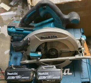 Makita DHS710RMJ 18V 36V Twin Circular Saw 190mm 2 x 4Ah Batteries, No charger