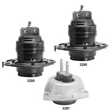 Engine Amp Automatic Transmission Mounts Set 3pcs For Dodge Durango 36l