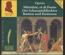 Mozart Edition-Mitridate; spettacolo direttore, Bastien/SIGILLATI 5 CD BOX!