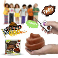 Remote Control Poo Speed Poop Kids Novelty RC Car Farting Sounds Fun Toy Gift UK