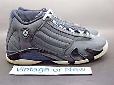 Nike Air Jordan XIV 14 Graphite Georgetown Retro GS 2011 sz 5Y
