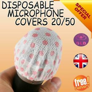 Disposable Non-woven Microphone Headset Hygiene Odor Mic Covers Hat Protection