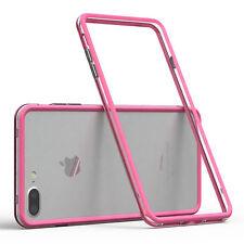 Bumper für Apple iPhone 8 / 7 Plus Case Wallet Schutz Hülle Cover Pink