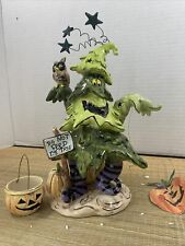 Blue Sky Clayworks Halloween Decor Spook E Tree 2004