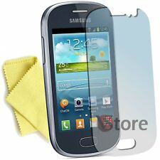 5 Film For Samsung Galaxy Fame S6810 Films Protector Save LCD Display
