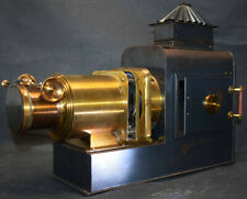 LATERNA MAGICA – HELIOSCOPIC LATERN um 1860 - GLAS-DIAS PROJEKTOR PROJECTOR