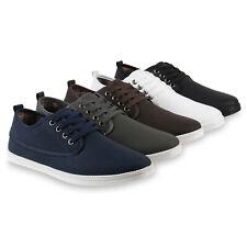 Herren Sneakers Low Sportliche Schnürer Bequeme Freizeitschuhe 817768 Schuhe