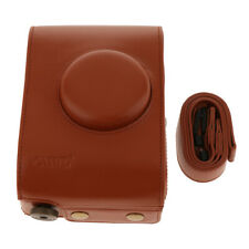 PU Leather Protective Case Cover Bag for Lomo Instant Automat Camera - Brown