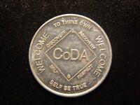 CODA RECOVERY PROGRAM SERENITY TOKEN!  WW655XTT
