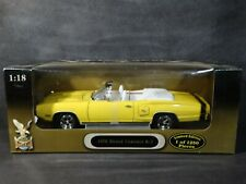 Road Signature 1970 Dodge Coronet R/T Convertible 1:18 Diecast White Int. Car