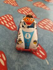 Ernie in Diecast Race Car Sesame Street Muppets Playskool Vintage 1983