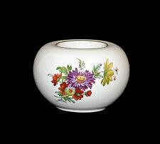 Porcelaine Bougie Chauffe-plat Bougeoir Kämmer Décor Floral 10x7cm 9988011