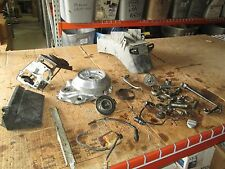 1978 Yamaha XS1100 Magneto Cover Inner Rear Fender Coil Tool Box Etc Parts Lot