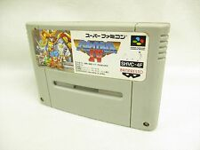 Super Famicom GREAT BATTLE IV 4 Nintendo Gundam Cartridge Only sfc