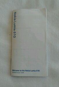 Nokia Lumia 610 User Guide