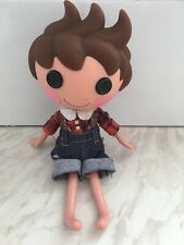 Lalaloopsy Boy Lumberjack Brown Spikey Hair Black Button Eyes Lala Loopsy 2010