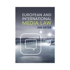 European and International Media Law by Professor Jan Oster (author)