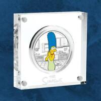 Tuvalu - Die Simpsons™ - Marge - 1 $ 2019 PP / Polierte Platte - Silber - The S