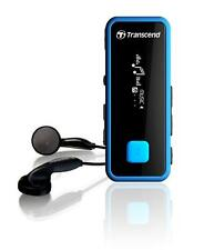 8GB Transcend Digital Music Player and FM Radio MP350 (Black/Blue)