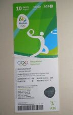 2016 Olympic Games Rio Brazil BASKETBALL Ticket 10/8 AUSTRALIA - USA 88–98