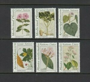 United Nations 1990 PLANTS set of 6, Mint Never Hinged