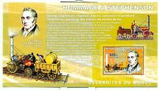 TRAINS - CONGO 2006 A. Stephenson block imperforated