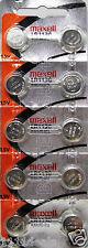 "10 LR1130 Original Maxell AG10 389 390 189 L1131 Alkaline Batteries ""Hologram"""