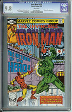 Iron Man #135  CGC  9.8  WP