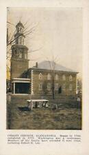 Antique POSTCARD c1907-15 Christ Church ALEXANDRIA, VA 17422