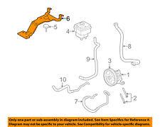 FORD OEM 2008 E-150 Pump Hoses-Steering-Bracket F7UZ3490AB