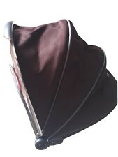 iCandy Peach 1 Hood Sun Canopy Black Jack Brown For Main Carrycot