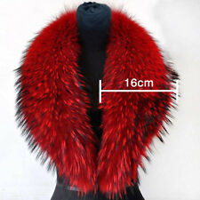 Red Women Faux Fur Collar Scarf/Shawl/Wrap Neck Warmer Warm Fashion