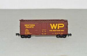 "N Scale Kadee Micro-Trains WP 20482 Western Pacific ""The Western Way"" 40' Boxcar"