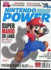 2011 Nintendo Power Magazine #272 October 3DS Super Mario Land NewsStand Variant